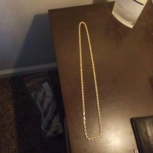 Other - 10k Rope Chain 24""